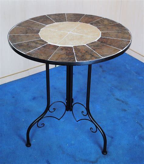 mosaic bistro table and chairs marvells gothic back mosaic bistro set table 2 chairs 3050