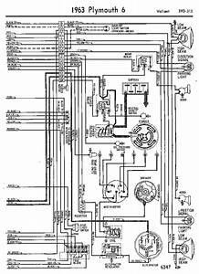1969 Plymouth Valiant Engine Wiring Diagram  59105
