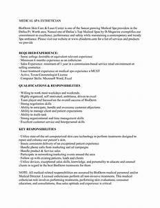 medical esthetician resume sample http wwwjobresume With esthetician resume sample