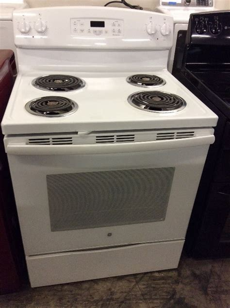 ge electric range top electric ignition stove