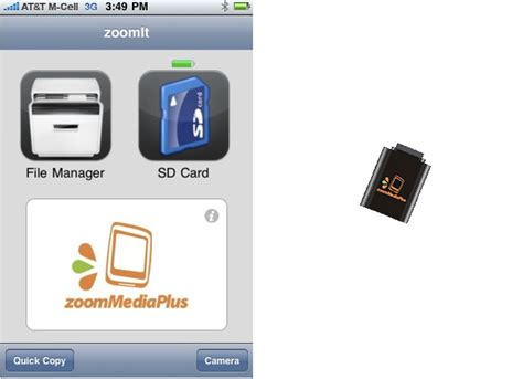 iphone sd card reader zoomit an sd card reader for iphone wired