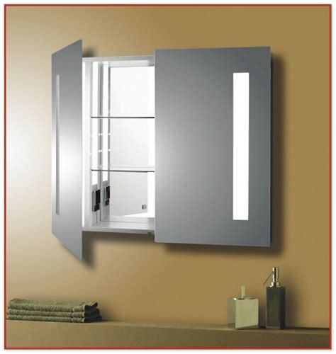 bathroom medicine cabinets with electrical outlet lowes recessed medicine cabinet