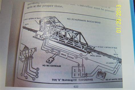 lionel 313 bascule bridge help o railroading line