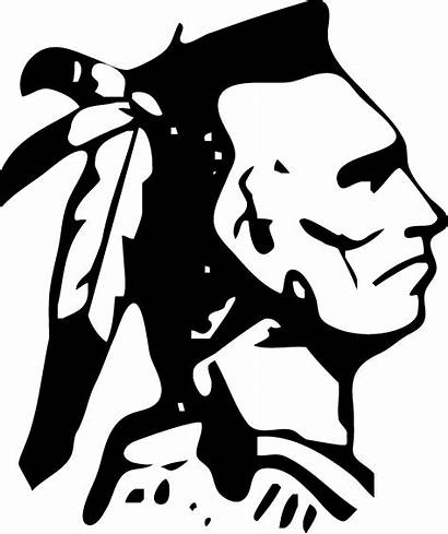 American Indians Clipart Indian Armuchee Clip Mascot