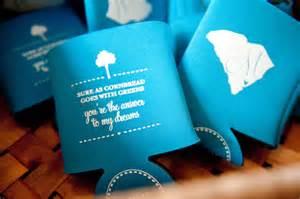 koozies for weddings save