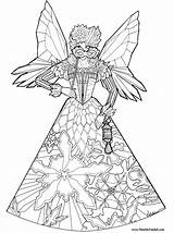 Coloring Pages Fairy Princess Fairies Adults Colouring Printable Detailed Princesses Christmas Princes Hard Pheemcfaddell Mcfaddell Phee 어린이 공부 색칠 Barbie sketch template