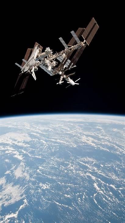 Space Station International Orbiter Earth Shuttle Fleet