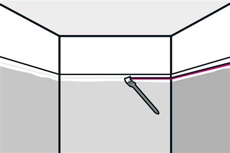 Decke Streichen Farbe by W 228 Nde Und Decken Streichen Anleitung Hornbach