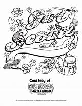Scout Coloring Pages Printable Law Daisy Scouts Cookie Promise Printables Honesty Brownie Sheets Cookies Camping Christmas Junior Ribbon Heavenly Activities sketch template
