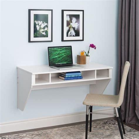 floating office desk floating desk in fresh white finish wehw 0500 1