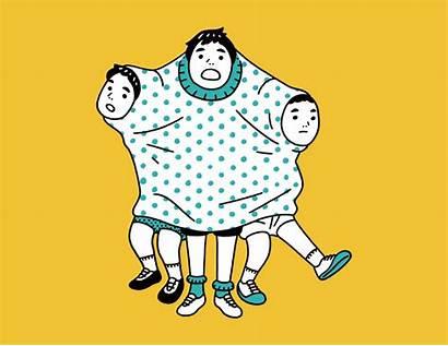 Illustrator Daisuke Nimura Gifs Animated Japanese Illustrations