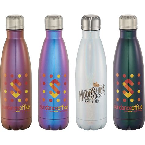 plastic tumblers copper vacuum insulated water bottle 17oz
