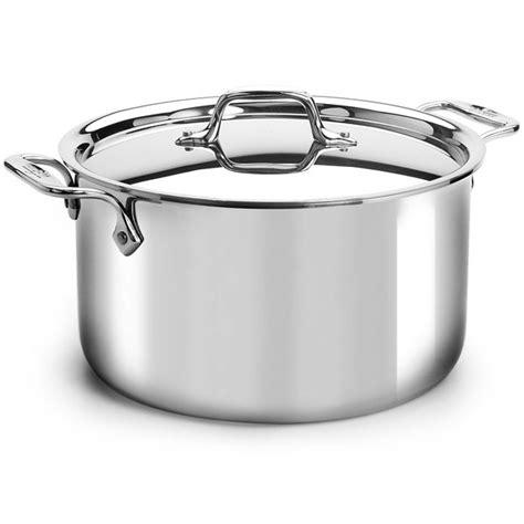 Allclad Original Stainless Stock Pot, 8quart Cutlery