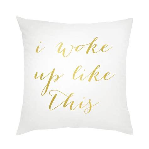 i woke up like this pillow moon and lola i woke up like this pillow moon and lola