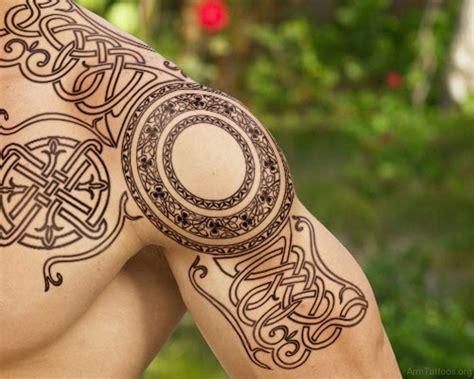 Celtic Shoulder Tattoo