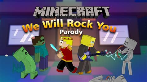 """Buddy you're an old man poor man pleadin' with your eyes gonna make you some peace some day you got mud on your face you big disgrace somebody better put you back into your place. """"We Will Find You"""" Minecraft Parody Of We Will Rock You By Queen! (Music Video) - YouTube"""