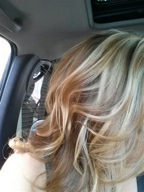 blonde caramel highlights perfect blonde hair hair