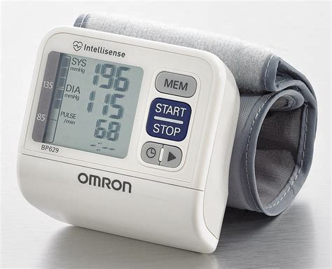 Omron 3 Series Compact Wrist Blood Pressure Monitor