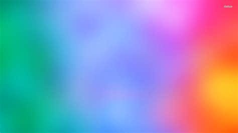 Blurry Rainbow Wallpaper