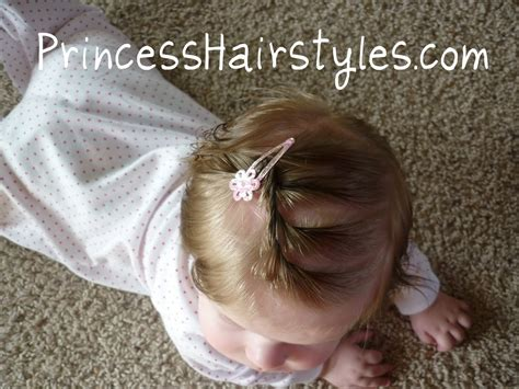 15+ Baby Girl Hairstyles For Short Hair