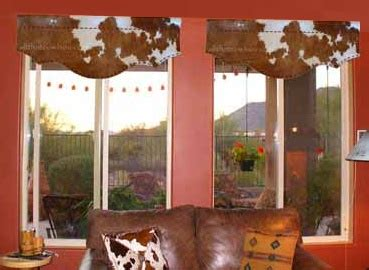 Cowhide Valance - 17 best images about trailer ideas on western