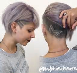 Funky Womens Hairstyles Pictures To Pin On Pinterest Tattooskid