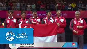 Victory Ceremony Table Tennis Mens' Team   28th SEA Games ...