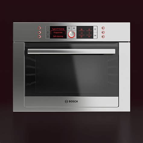 Bosch Built in Combination Oven 3D model   CGTrader