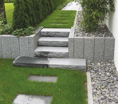 Garten Gestalten Palisaden by Gartengestaltung Granit Stelen Nowaday Garden