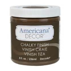 Americana Decor Chalky Finish Paint 2 Oz by Decoart Americana Decor 8 Oz Rustic Chalky Finish Adc25