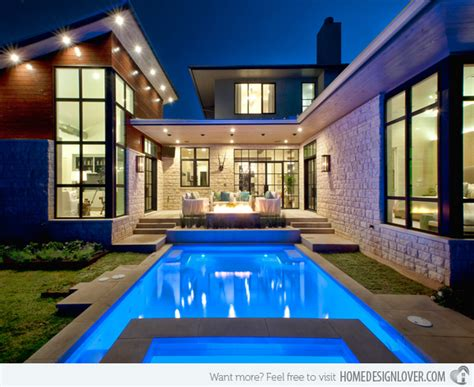 house plans with swimming pools 15 lovely swimming pool house designs decoration for house