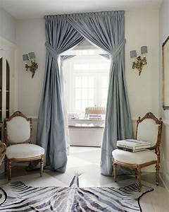 Rideau Bleu Gris : les rideaux occultants les plus belles variantes en photos ~ Teatrodelosmanantiales.com Idées de Décoration