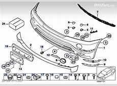 Trim panel, front bumper HP up to 1003 BMW X5 E53, X5 4