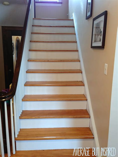 five tips for painting a staircase with before and after photos average but inspired