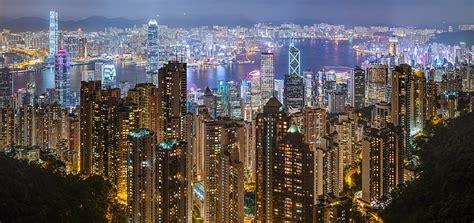 Victoria Harbour Hong Kong Kowloon
