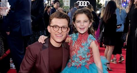 spider man   home iron mans daughter morgan