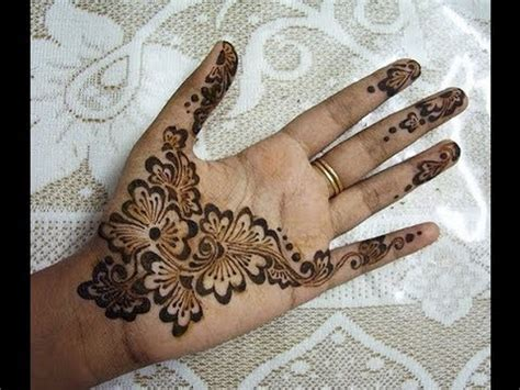 beautiful arabic henna mehendi design  indian