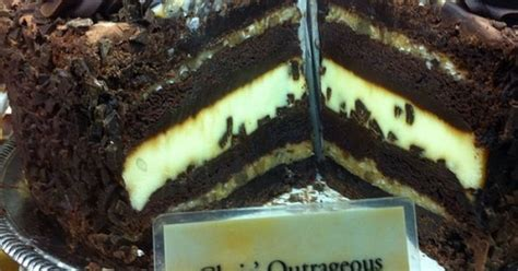 Chris' Outrageous Chocolate Cake @ The Cheesecake Factory ...