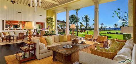 beautiful interiors of homes kukuiula the parrish collection kauai