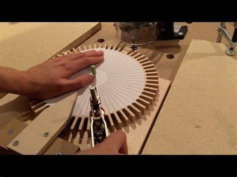 making wooden gears   router youtube workshop