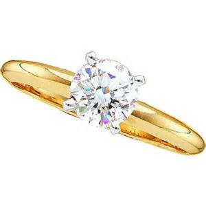 real cheap wedding rings cheap 25 real solitaire engagement ring 14k gold new ebay