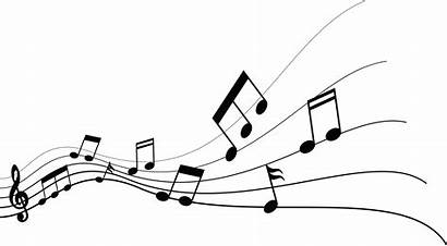 Notes Note Transparent Musical Flying Clipart Clip