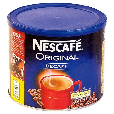 What is decaf coffee and how is it made? Nescafe Decaffeinated Coffee - 500g - PF Cusack