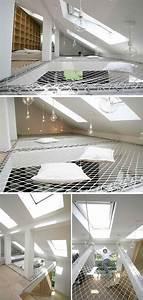 Architecture à Vivre : filet d 39 habitation id es am nagement moderne mezzanine ~ Melissatoandfro.com Idées de Décoration