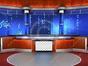 News Anchor Backdrop
