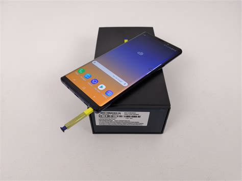 samsung galaxy note 9 unboxing heavier more smarter yellow s pen
