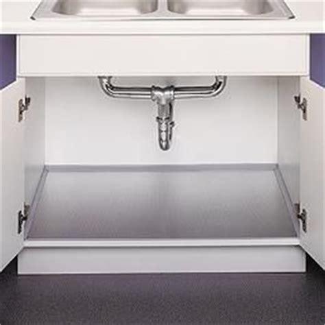 sink liners kitchen sinks polished aluminum undersink liner space saving ideas