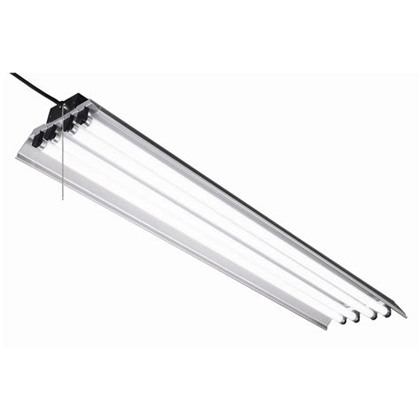 lowes led workshop light shop utilitech linear shop light common 4 ft actual 12