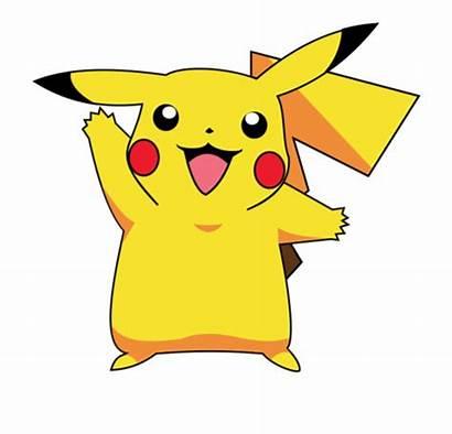 Pikachu Pokemon Clipart Clip Pokeman Transparent Squirtle