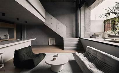 Interior Architecture Interiors Night Landscape Residential